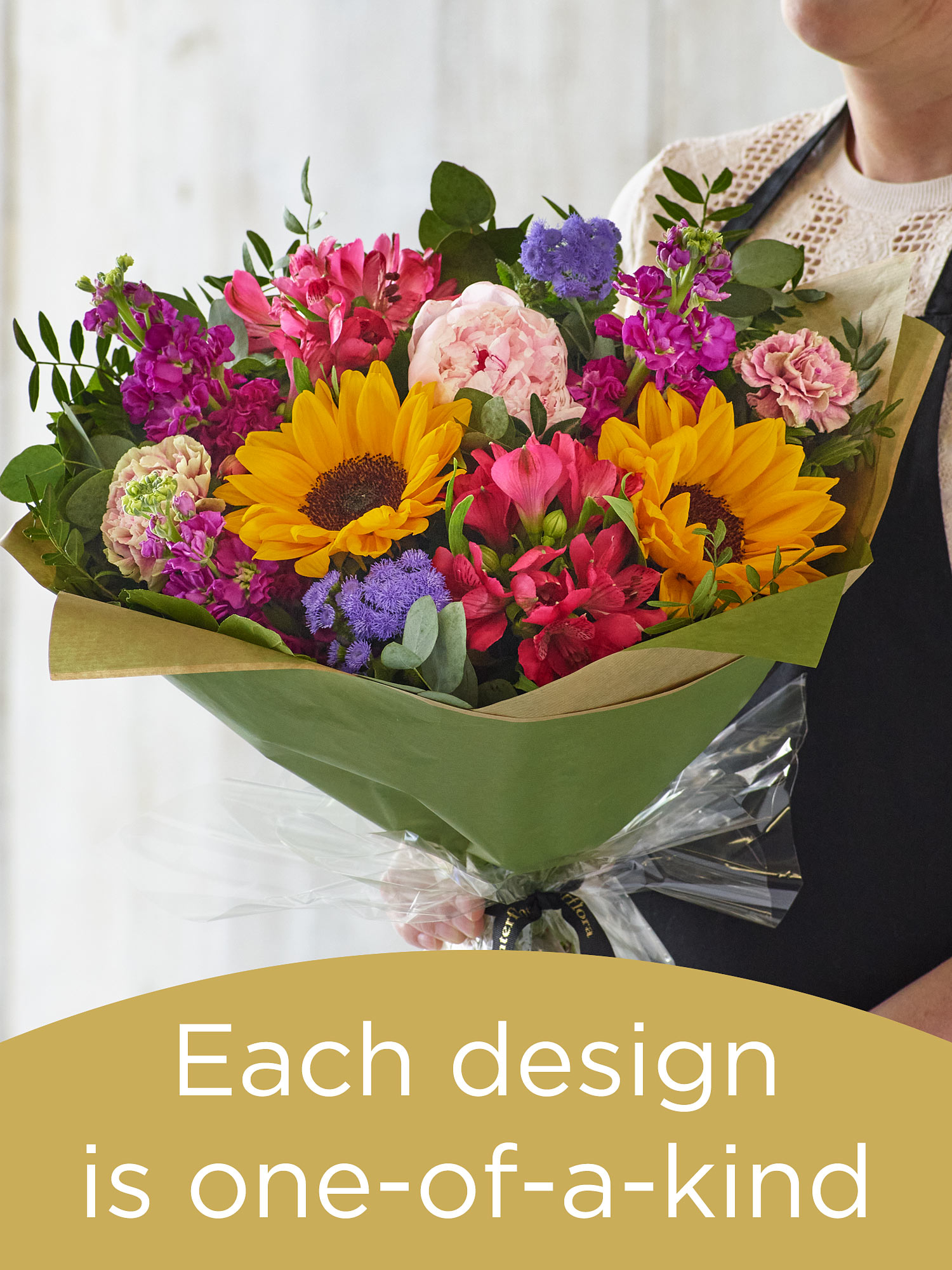 Summer hand-tied bouquet with the finest flowers Flower Arrangement