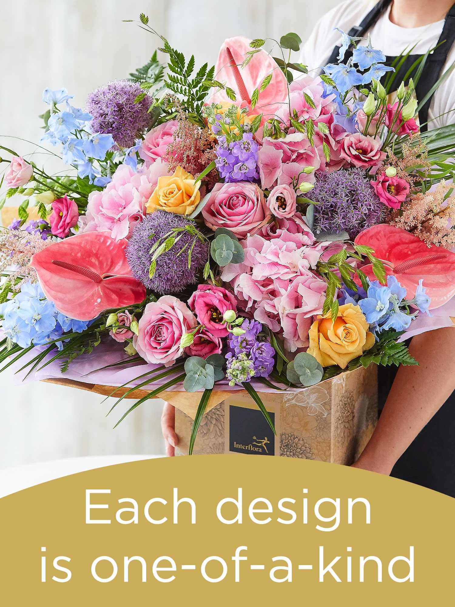 Lily - Free Hand-Tied Flower Arrangement