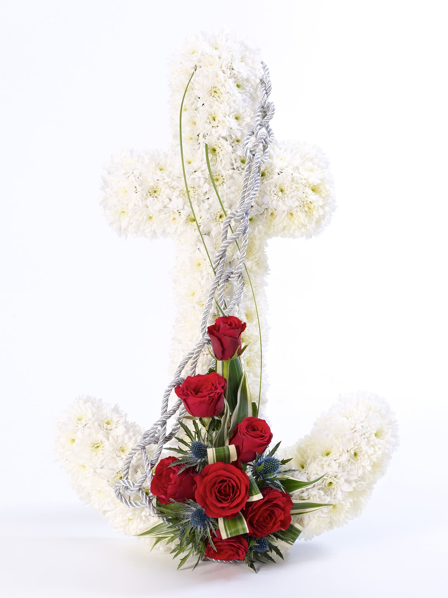 Anchor Tribute Flower Arrangement