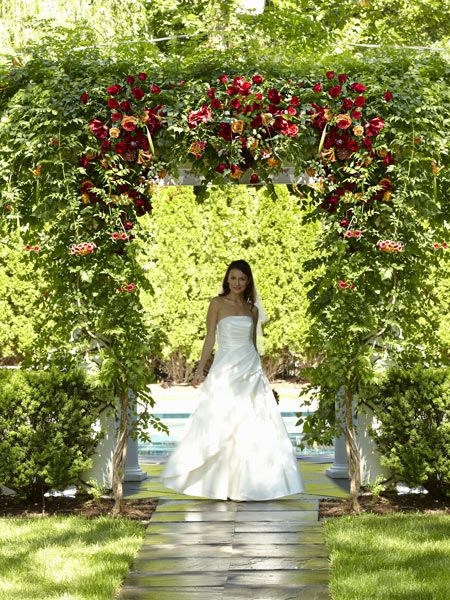 Arbour of Love Archway Flower Arrangement