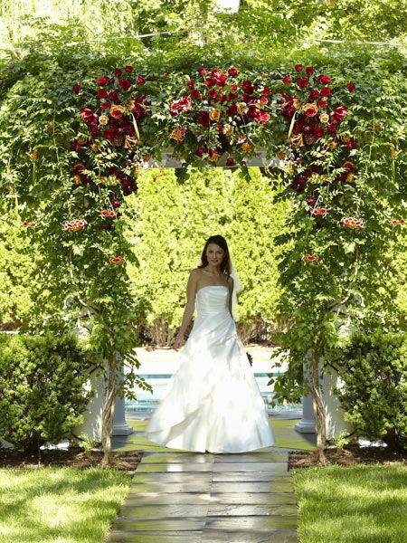 Arbour of Love Archway Flower Arrangement
