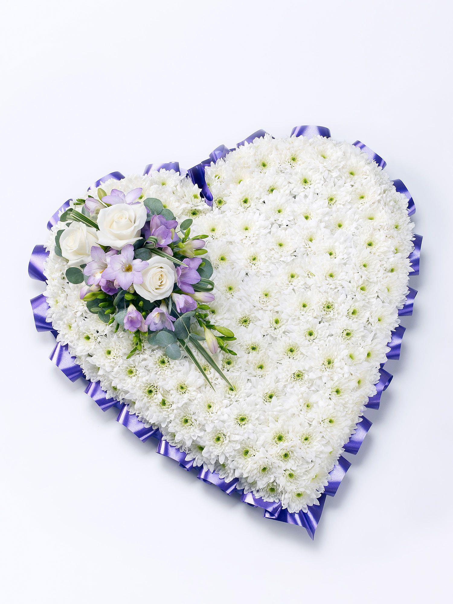 Classic Heart Flower Arrangement